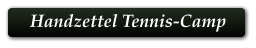 Handzettel Tennis-Camp